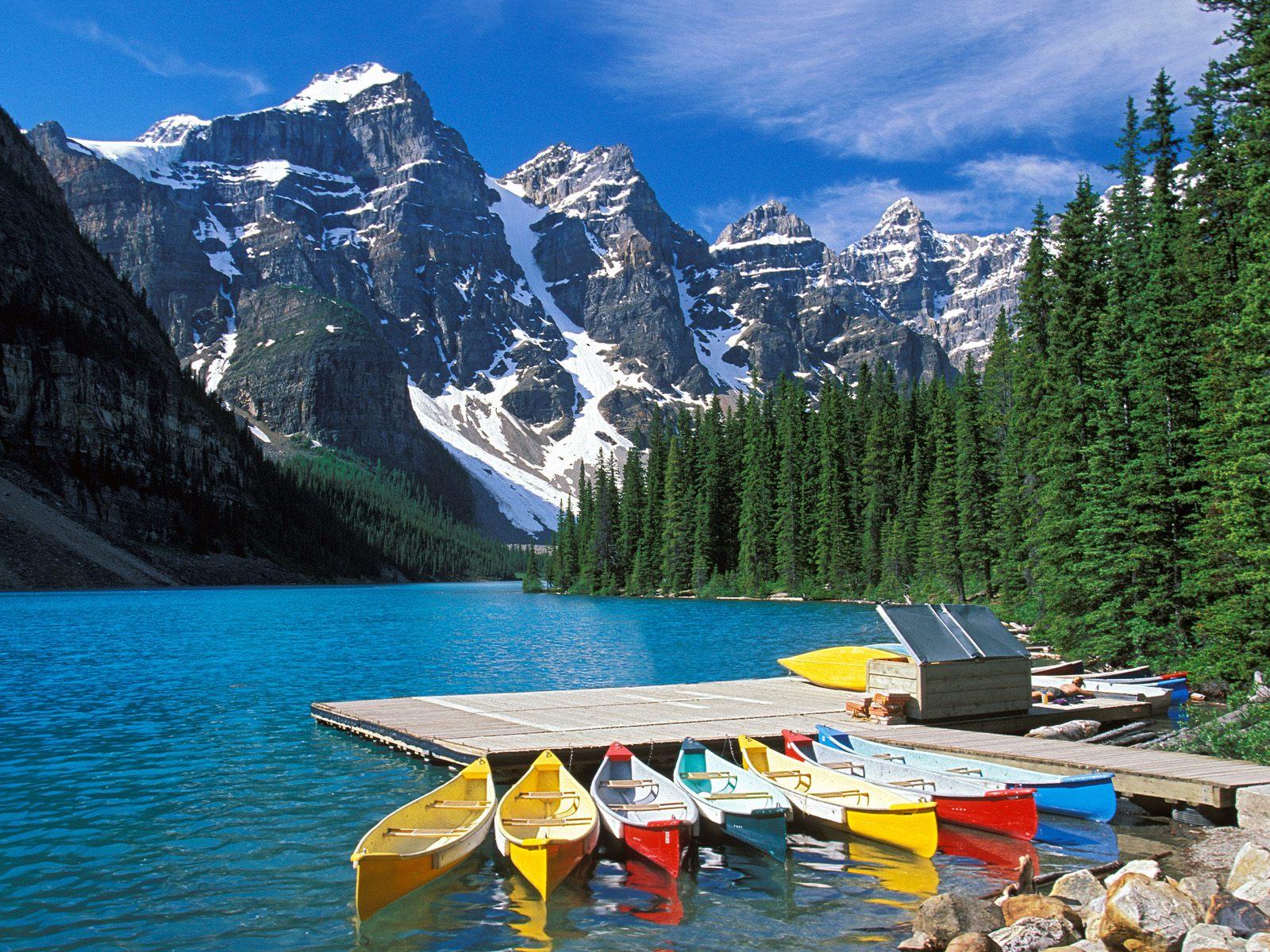 Озера в Канаде