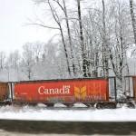 железная дорога, Канада