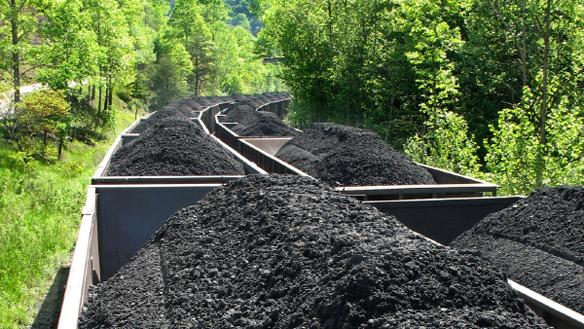 Уголь Канады