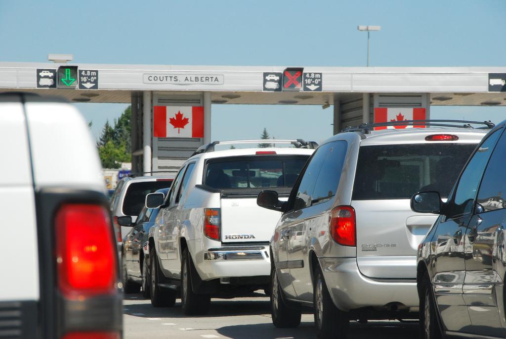 Канадская Граница