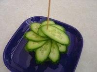 Украшение из овощей